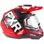 Red/Black/White Torque X EVO Helmet w/Electric Shield - 190610-2010-07