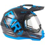 Blue/Black Torque X EVO Helmet w/Electric Shield - 190610-4010-13