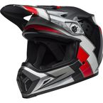 Matte Black/Red/White MX-9 MIPS Twitch Replica LE Helmet - 7105602