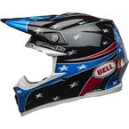 Black/Blue/Red/White Moto-9 MIPS Tomac Replica 19 Eagle Helmet - 7103577