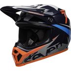 Black/Gray/Navy/Coral MX-9 MIPS Seven Ignite Helmet - 7102938