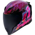 Purple Airflite Synthwave Helmet - 0101-12089