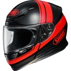 Black/Red RF-1200 Philosopher TC-1 Helmet - 0109-3601-06