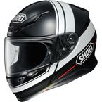 Black/White RF-1200 Philosopher TC-5 Helmet - 0109-3605-06