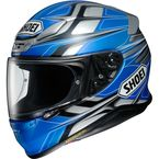 Blue/Black/Gray RF-1200 Rumpus TC-2 Helmet - 0109-3702-06