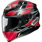 Black/Red/Gray RF-1200 Rumpus TC-10 Helmet - 0109-3710-06