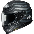 Matte Black/Charcoal/White RF-1200 Dedicated TC-5 Helmet - 0109-3905-06