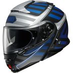 Blue/Black/Gray Neotec II Splicer TC-2 Modular Helmet - 0116-1102-06