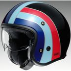 Black/Red/Blue J-O Nostalgia TC-10 Helmet - 0131-1410-06