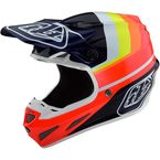 Blue/Red Mirage SE4 Carbon Helmet - 102580004