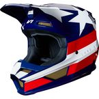 White/Red/Blue V1 Regl Special Edition Helmet - 24276-574-M