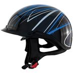 Blue Freehand Roadster DDV Helmet - 88-34044