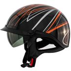 Orange Freehand Roadster DDV Helmet - 88-34074