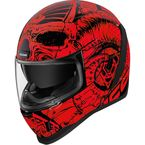 Red Airform Sacrosanct Helmet - 0101-12124