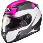 Semi-Flat White/Pink/Gray CL-17 Omni MC-8SF Helmet - 866-782