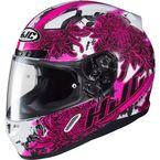 Pink/White/Black CL-17 Phantom MC-8 Helmet - 868-983