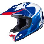 Blue/White/Red CL-XY 2 Youth Argos MC-2 Helmet - 296-924