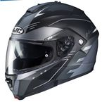Semi-Flat Black/Gray IS-Max II Cormi MC-5SF Helmet - 998-754