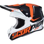 Orange/Black VX-R70 Ozark Helmet - 70-6815