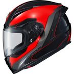 Red EXO-R2000 Hypersonic Helmet - 200-7915