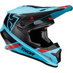 Blue/Black Sector Split Helmet w/MIPS - 0110-6237