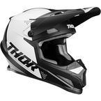 Black/White Sector Blade Helmet - 0110-6249