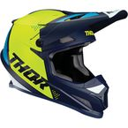 Navy/Acid Sector Blade Helmet - 0110-6255