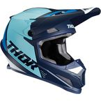 Navy/Blue Sector Blade Helmet - 0110-6261