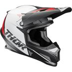 Charcoal/White Sector Blade Helmet - 0110-6267
