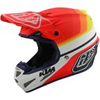 White/Red KTM Mirage SE4 Composite Helmet - 101762004