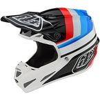 White/Black Mirage SE4 Composite Helmet - 101580004