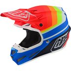 Blue/Red Mirage SE4 Composite Helmet - 101580014