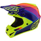 Yellow/Purple Beta SE4 Polyacrylite Helmet - 109732014