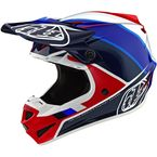 Red/Blue Beta SE4 Polyacrylite Helmet - 109732024