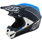 White/Gray Beta SE4 Polyacrylite Helmet - 109732004