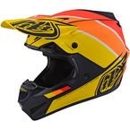 Navy/Yellow Beta SE4 Polyacrylite Helmet - 109732034