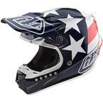 Youth Red/White/Blue Freedom SE4 Polyacrylite Helmet - 112142003