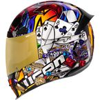 Gold Airframe Pro Lucky Lid 3 Helmet - 0101-12384