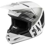 White/Grey/Black Kinetic Cold Weather Helmet  - 73-4946M