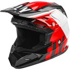 Red/Black/White Toxin MIPS Transfer Helmet - 73-8541L