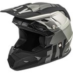 Youth Matte Gray/Black Toxin MIPS Transfer Helmet  - 73-8542YL
