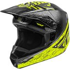 Hi-Vis/Grey/Black Kinetic K120 Helmet  - 73-8620L