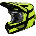 Youth Fluorescent Yellow V2 Hayl Helmet - 23981-130-YL