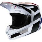 Youth Blue/Red V2 Hayl Helmet - 23981-149-YM