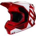 Youth Flame Red V1 Prix Helmet - 23983-122-YL