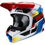 Youth Blue/Red V1 Yorr Helmet - 23985-149-YL