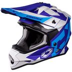 Youth Matte Blue/Navy Mode MX Flow Helmet - 35-2924