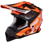 Youth Matte Flo Orange Mode MX Flow Helmet - 35-2966