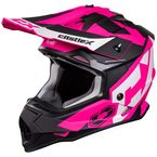 Youth Matte Pink Glo Mode MX Flow Helmet - 35-2984