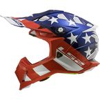 Red/White/Blue Subverter Krome Glory Helmet - 470-1224